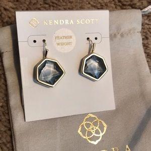 New Kendra Scott gold Vanessa sm drop earrings